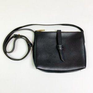 J. Crew Ryann Crossbody Bag Black Leather